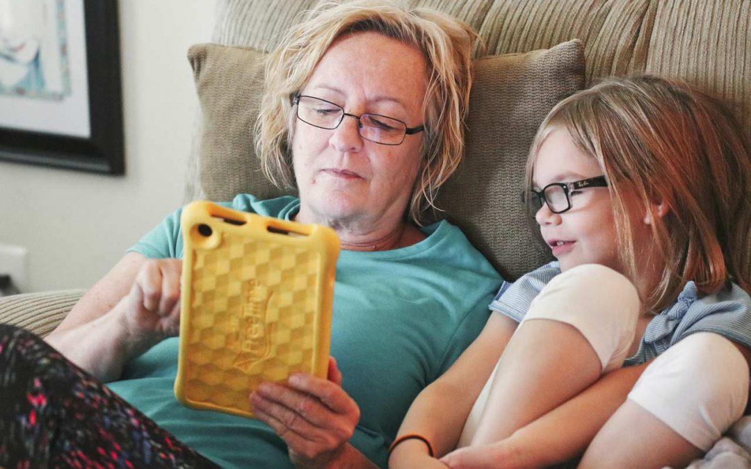 Rop på hjälp – fyraåring söker kärleksfull mormor